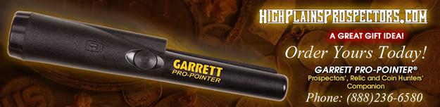 Get your Garrett Pro-Pointer Today!