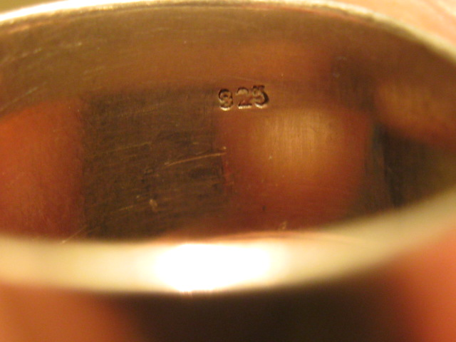 Silver Ring Stamped 925