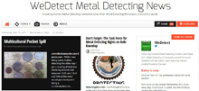 Visit My Metal Detecting Newspaper