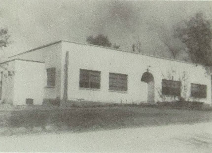 The School in 1957