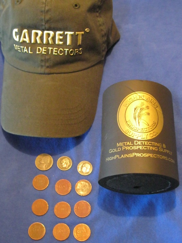 My New Garrett Metal Detectors Hat