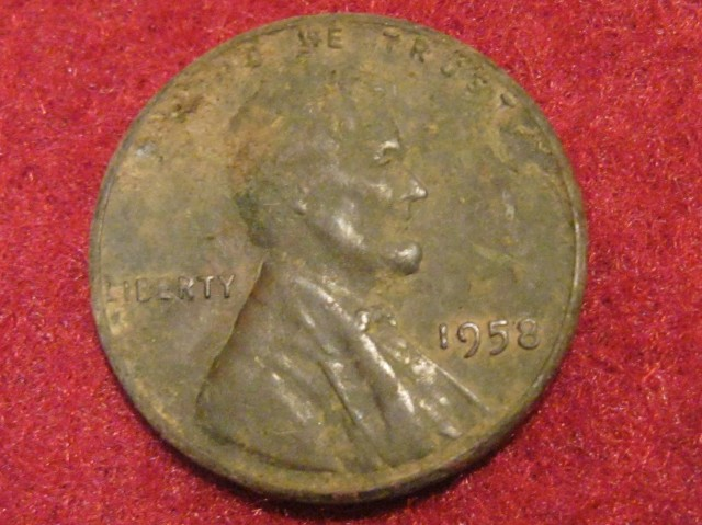 1958 Wheat Penny