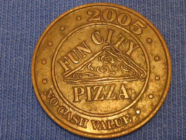2005 Fun City Token