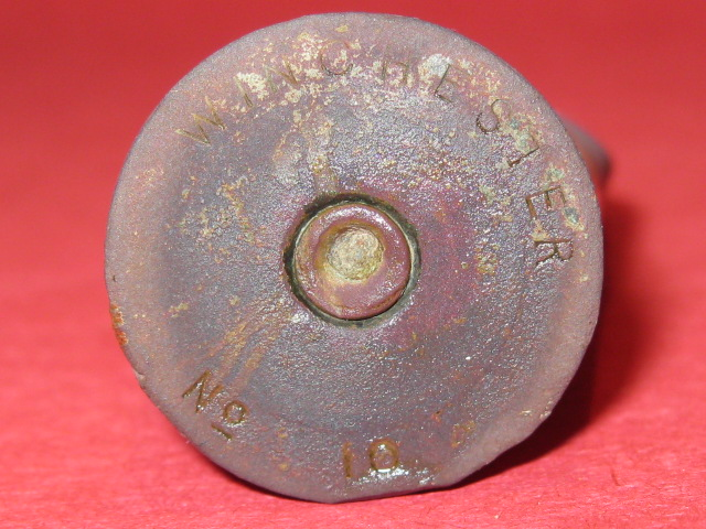 Winchester No. 10 Brass Shotshell Head Stamp