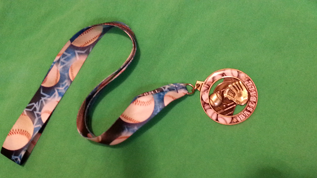 Medal Found with Metal Detector