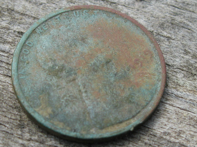 1919 Wheat Cent