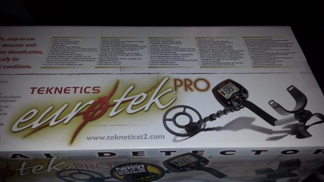 "Teknetics EuroTek Pro 11"" DD"