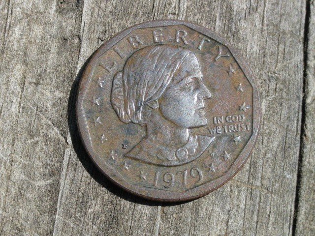 1979 Susan B Anthony Dollar