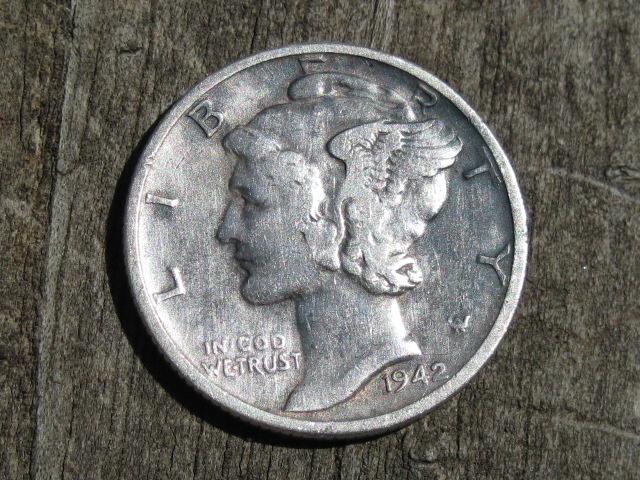 1949 Mercury Dime