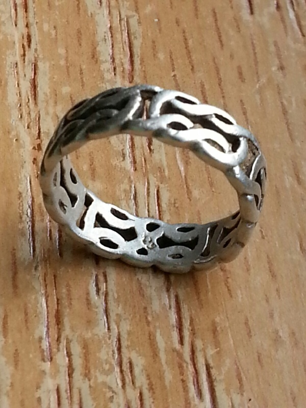 .925 Braided Ring