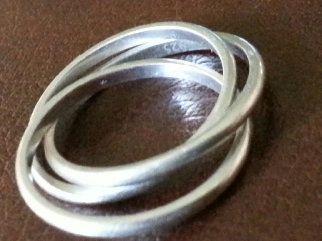925 3 ring