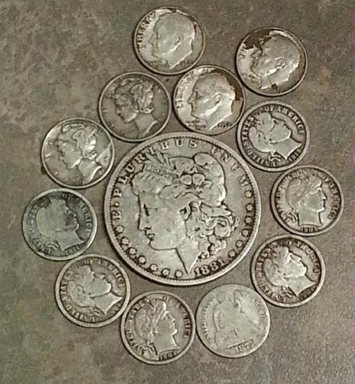 5 Months of Silver Finds with Minelab E-Trac Metal Detector